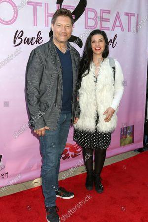 Stock Photo of Sean Kanan and Michele Kanan