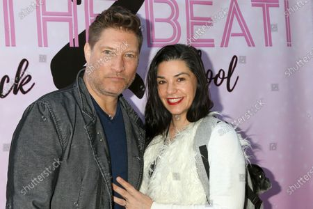Stock Picture of Sean Kanan and Michele Kanan