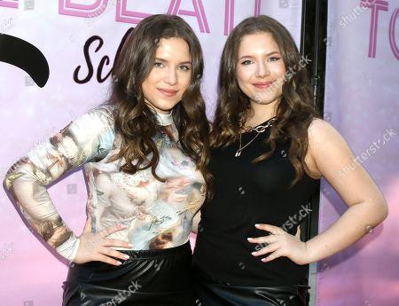 Stock Image of Bianca D'Ambrosio and Chiara D'Ambrosio