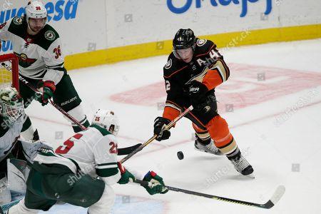 Editorial picture of Wild Ducks Hockey, Anaheim, USA - 08 Mar 2020