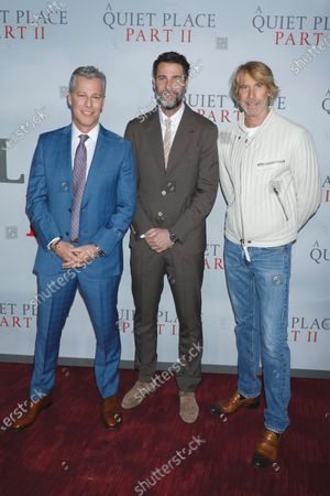 Brad Fuller, Andrew Form and Michael Bay