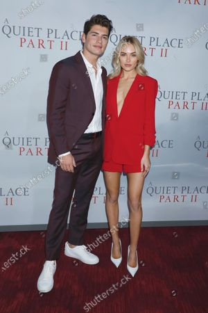 Stock Image of Gregg Sulkin and Michelle Randolph