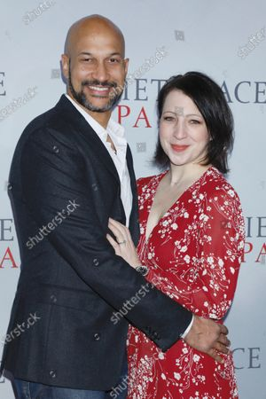 Stock Image of Keegan-Michael Key and Elisa Key