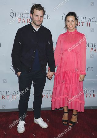 Editorial image of 'A Quiet Place Part II' film premiere, Arrivals, New York, USA - 08 Mar 2020