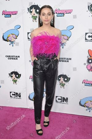 Stock Picture of Sky Katz attends Christian Cowan X The Powerpuff Girls Season II Runway Show at NeueHouse, in Los Angeles