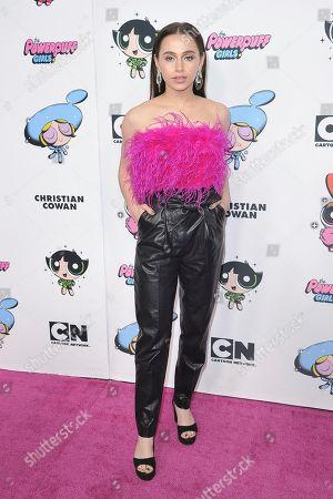 Editorial picture of Christian Cowan X The Powerpuff Girls Season II Runway Show - Arrivals, Los Angeles, USA - 08 Mar 2020