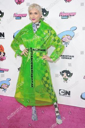 Alyson Stoner attends Christian Cowan X The Powerpuff Girls Season II Runway Show at NeueHouse, in Los Angeles