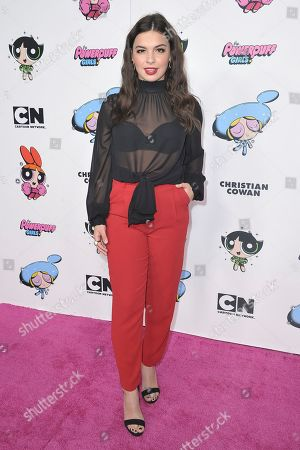 Editorial picture of Christian Cowan X The Powerpuff Girls Season II Runway Show - Arrivals, Los Angeles, USA - 08 Mar 2020