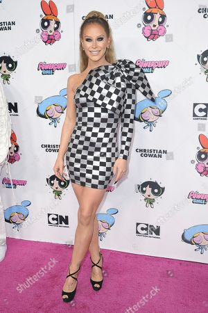 Gigi Gorgeous attends Christian Cowan X The Powerpuff Girls Season II Runway Show at NeueHouse, in Los Angeles