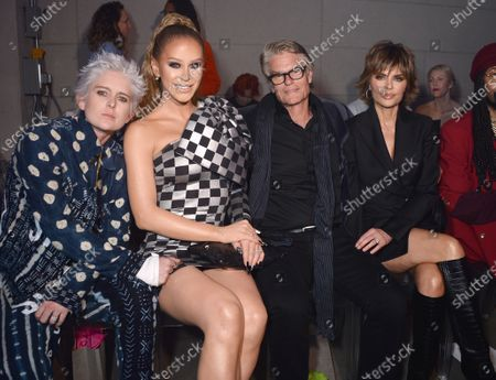 Nats Getty, Gigi Gorgeous, Harry Hamlin and Lisa Rinna