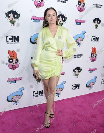 Editorial image of Christian Cowan X The Powerpuff Girls Runway Show, NeueHouse, Los Angeles, USA - 08 Mar 2020