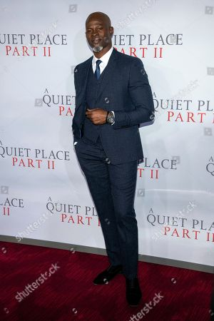 "Djimon Hounsou attends the world premiere of Paramount Pictures' ""A Quiet Place Part II"" at Jazz at Lincoln Center's Frederick P. Rose Hall, in New York"
