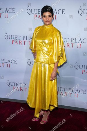 """Ashley Dyke attends the world premiere of Paramount Pictures' """"A Quiet Place Part II"""" at Jazz at Lincoln Center's Frederick P. Rose Hall, in New York"""