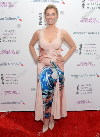 Editorial image of National Women's History Museum Women Making History Awards, Arrivals, Los Angeles, USA - 08 Mar 2020
