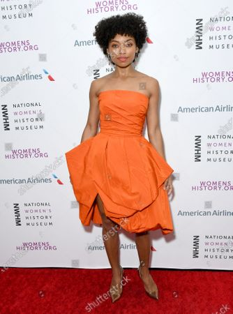Stock Picture of Logan Browning