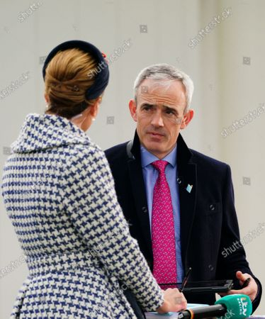 Ruby Walsh chats with ITV Presenter Francesca Cumani