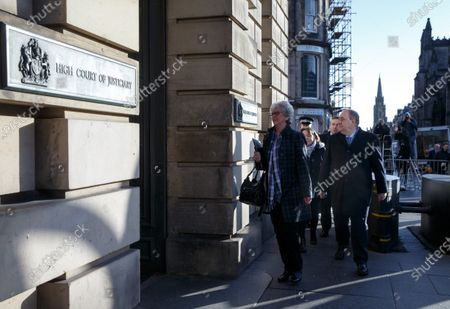Former Scottish first minister Alex Salmond arrives at the High Court for his trial on rape and sex abuse charges in Edinburgh, Scotland, Britain, 09 March 2020. Alex Salmond is standing trial over allegations he sexually assaulted ten women while serving as first minister of Scotland.