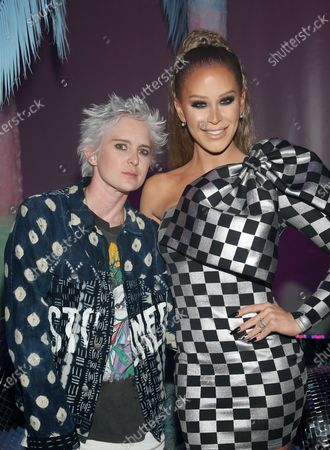 Editorial picture of Christian Cowan X The Powerpuff Girls Runway Show, Arrivals, NeueHouse, Los Angeles, USA - 08 Mar 2020