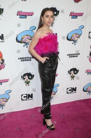Editorial image of Christian Cowan X The Powerpuff Girls Runway Show, Arrivals, NeueHouse, Los Angeles, USA - 08 Mar 2020