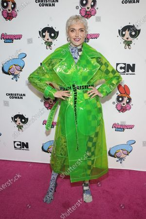 Editorial photo of Christian Cowan X The Powerpuff Girls Runway Show, Arrivals, NeueHouse, Los Angeles, USA - 08 Mar 2020