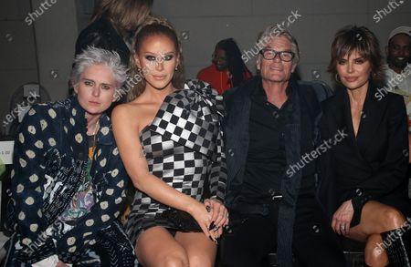 Stock Photo of Gigi Gorgeous, Nats Getty, Harry Hamlin, Lisa Rinna