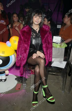 Editorial picture of Christian Cowan X The Powerpuff Girls Runway Show, Front Row, NeueHouse, Los Angeles, USA - 08 Mar 2020