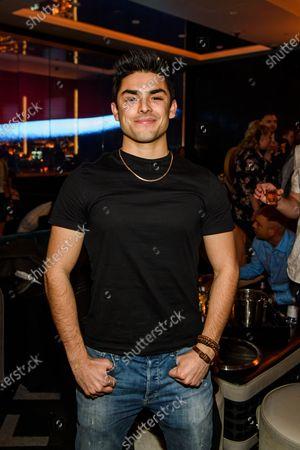 Editorial photo of Celebrities at Electra Cocktail Club, Las Vegas, USA - 07 Mar 2020