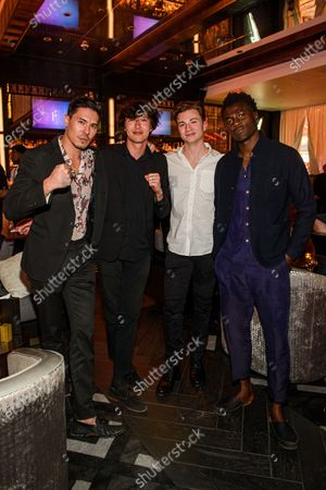 Editorial photo of Celebrities at Electra Cocktail Club, Las Vegas, USA - 07 Mar 2020
