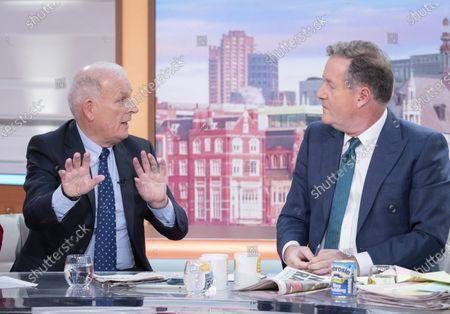 Kelvin McKenzie with Piers Morgan
