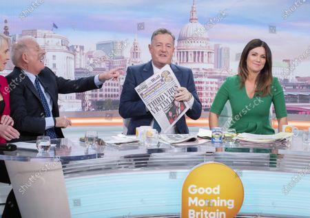 Editorial image of 'Good Morning Britain' TV show, London, UK - 09 Mar 2020