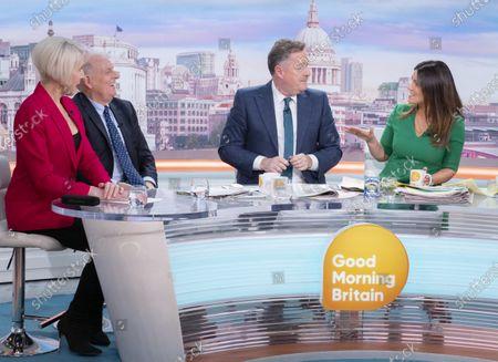 Editorial photo of 'Good Morning Britain' TV show, London, UK - 09 Mar 2020