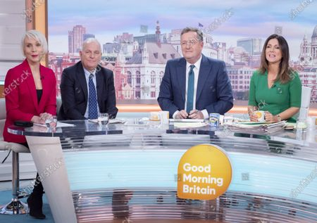 Stock Picture of Dawn Neesom and Kelvin McKenzie with Piers Morgan and Susanna Reid