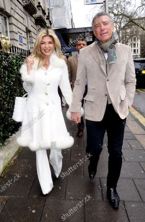 Editorial picture of Steve Varsano and Lisa Tchenguiz out and about, London, UK - 08 Mar 2020