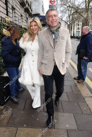 Editorial image of Steve Varsano and Lisa Tchenguiz out and about, London, UK - 08 Mar 2020