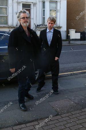 Stock Photo of Sonny Starkey and Jason Starkey arrive at Wood Green Crown Court.