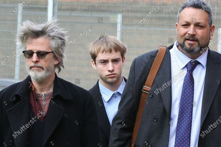 Sonny Starkey and Jason Starkey arrive at Wood Green Crown Court.