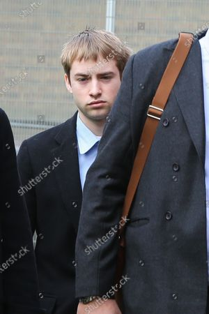 Sonny Starkey leaves Wood Green Crown Court