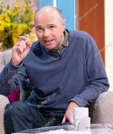 Stock Photo of Karl Pilkington