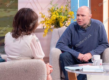 Lorraine Kelly and Karl Pilkington