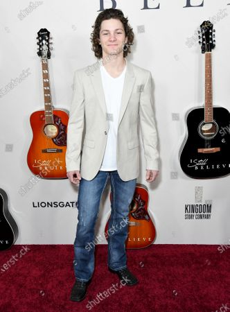Editorial picture of 'I Still Believe' special screening, Arrivals, Los Angeles, USA - 07 Mar 2020