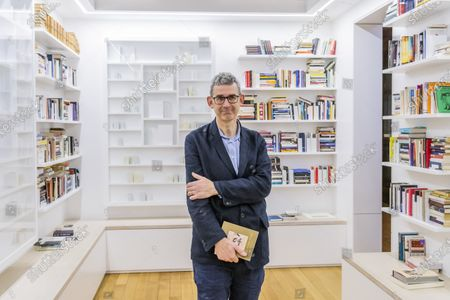 Artist Edmund De Waal (pictured) unveils his library of exile in the Collecting the World Gallery at The British Museum