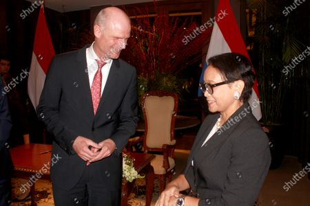 Editorial image of Indonesian Foreign Minister Retno Marsudi meet Dutch counterpart Stef Blok, Jakarta, Indonesia - 09 Mar 2020
