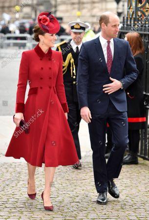 Catherine Duchess of Cambridge and Prince William