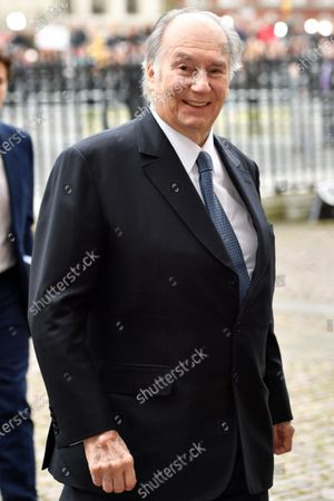 Stock Photo of Prince Karim Aga Khan