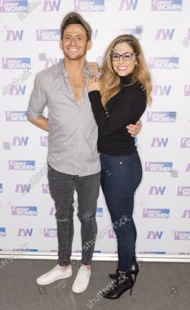 Stock Picture of Joe Swash and Alex Murphy
