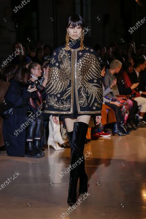 Editorial picture of Andrew Gn show, Runway, Fall Winter 2020, Paris Fashion Week, France - 28 Feb 2020