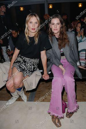 Ana Girardot and Juliette Dol