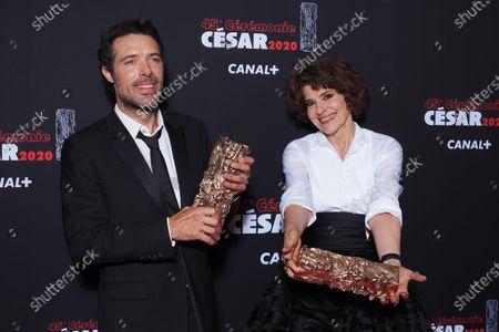 Editorial photo of 45th Cesar awards, Press Room, Paris, France - 28 Feb 2020
