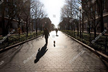 Editorial image of Virus Outbreak , New York, USA - 09 Mar 2020