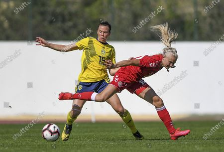 Editorial photo of Sweden V Denmark, Algarve Cup, Football, Portugal - 07 Mar 2020